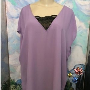 TORRID purple blouse